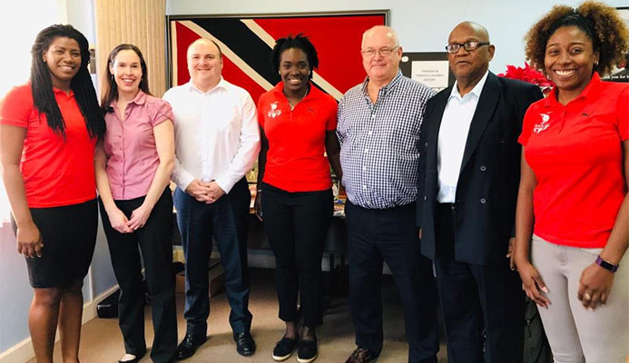 CGF officials are conducting a site visit in Trinidad and Tobago to evaluate their bid for the 2021 Commonwealth Youth Games ©Twitter/Brian Lewis