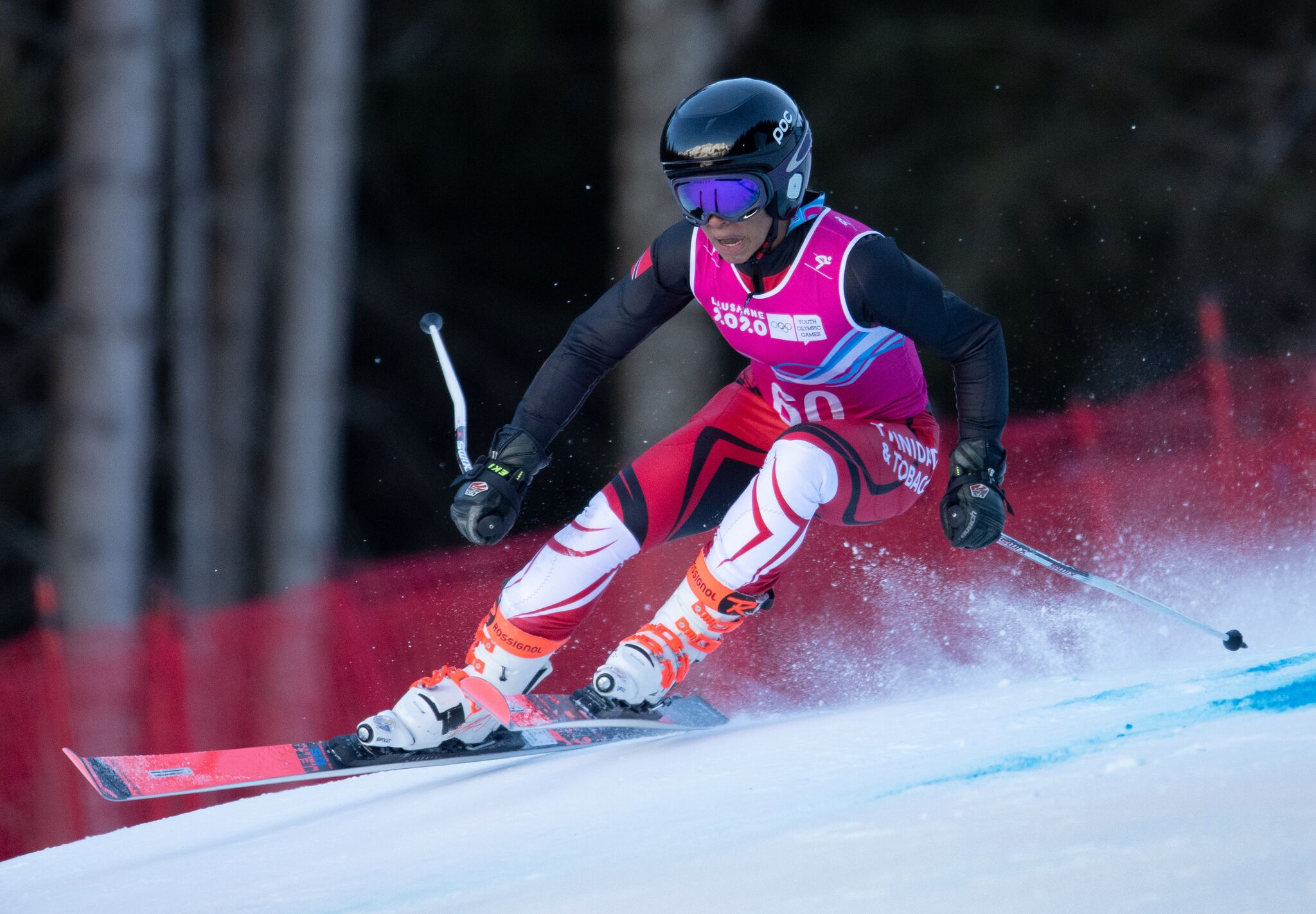Abigail Vieira, Alpine Skiing – Alpine Combined Slalom Competition | Photo Credits: Veronika Muehlhofer @www.ttoc.org