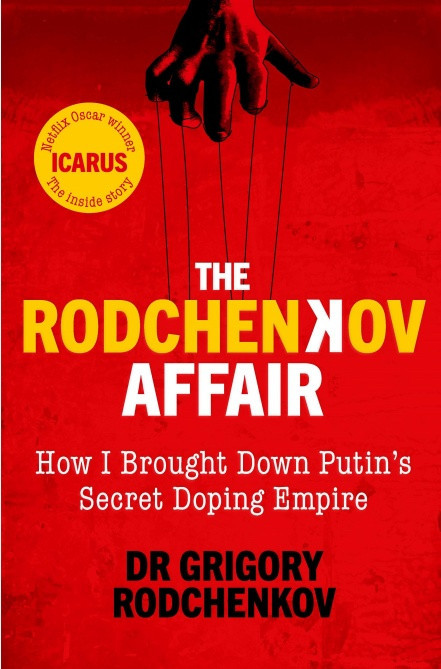 The book is expected to offer unprecedented insight into Russian manipulation of the anti-doping process ©Waterstones