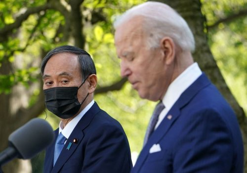 Biden backs Japan's bid to hold