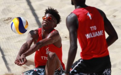 TT beach volleyball teams named for Olympic qualifiers in June